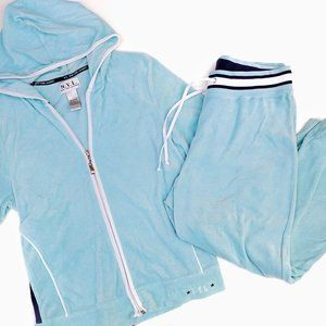 00's N.Y. Laundry Sporty Track Sweatsuit Large